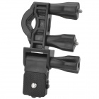 Universal Bicycle Motorcycle Mount Holder for GPS Camera - Black