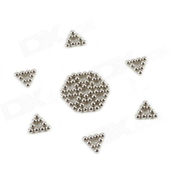 CZ-216 4mm Neodymium Iron DIY Puzzle Set - Silver (216 Piece)