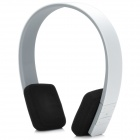 GUCEE H1 Universal Wireless Bluetooth Headset für iPhone / HTC / Samsung - Weiß + Schwarz + Grau