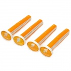 Car Vent süßen Duft Clip - Orange (4 PCS)