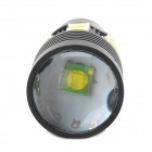 1156 8W 6500K 244lm Blanco Car luz de freno de copia de seguridad w / 13-CREE LED - Negro