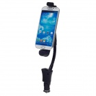 Convenient Car Charger w/ Holder for Samsung Galaxy S4 i9500 - Black