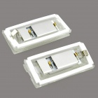 126lm 6500k White Light License Plate Lamp / Daytime Running Lamp for BMW E46 4D (98-03) (2 PCS)
