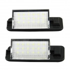 126lm 6500k White light License Plate Lamp / Daytime Running Lamp for BMW  E36 (1992-1998) (2 PCS)