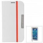 NILLKIN Protective PU Leather + PC Case for Samsung Galaxy S4 i9500 - White