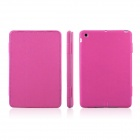 ENKAY ENK-3335 Protective Folding PU + Silicon Case for Ipad MINI - Deep Pink