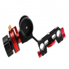 DEBAO IV Follow Focus for 15mm Rod - Black + Red + Blue