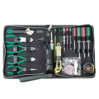 Pro'skit 1PK-618B 21-in-1 Maintenance Household Tool Kit - Green