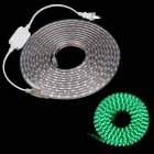 ZIYU JB01 Waterproof 60W 4500lm 560nm 300-SMD 5050 LED Green Flexible Light Strip - (5M / 220V)