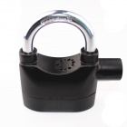 FK Zinc Alloy Security Electronic Alarm Lock w/ Keys - Black (6 x LR44)