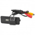 Water Resistant Wide Angle Car Rearview Video Camera w/ 2-LED for Volkswagen Magotan / POLO / Passat