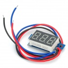 "RD07 Mini 0.36"" Green LED Digital Voltage Measuring Meter Module - Black + Blue"