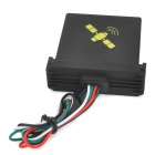 Water Resistant Quadband GPS / GSM Vehicle Positioning Tracker - Black