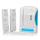 WIWI YB00846 16-Bit Wireless Motion Sensing TV Game Console w/ 87 Games - White