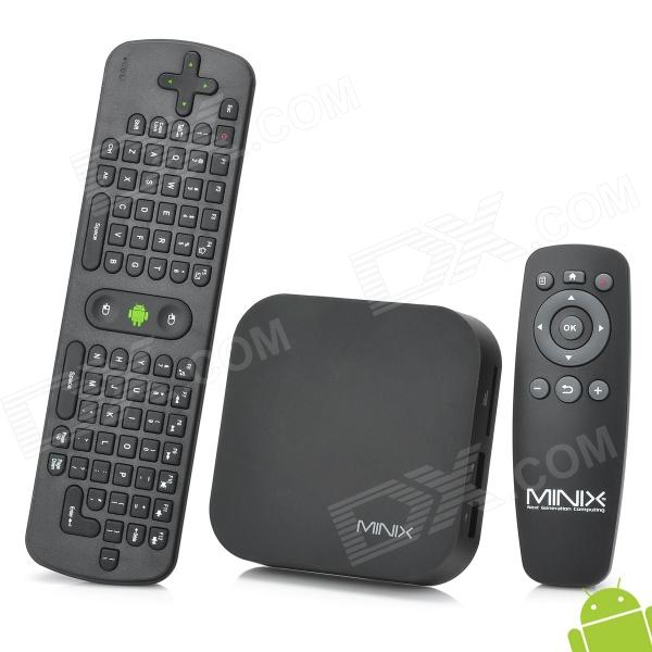MINIX X5mini + RC11 Air Mouse Dual-Core Android 4.1.2 Mini PC Google TV Player w/ 1GB RAM / 8GB ROM ourspop mk809biii dual core rk3066 android 4 2 2 1gb ddr3 8gb nand flash tv box mini pc rc11 air mouse us plug