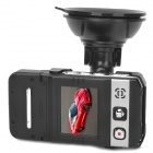 "Full HD 1080P 1.5"" TFT Wide Angle Car DVR w/ G-sensor / HDMI / 4-LED / Night Vision - Black"