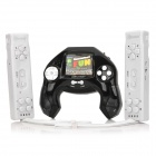16-Bit Wireless Motion Sensing TV Game Console w/ 2 Wireless Controllers - Black + White