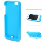 Stylish 2200mAh Rechargeable Li-ion Battery Power Back Case w/ Holder for iPhone 5 - Blue