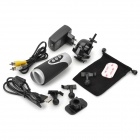RD39 Waterproof 5.0MP CMOS Sport Wide Angle DVR Camcorder w/ AV-out / TF / Mini USB - Black + Silver