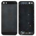 Replacement Back Cover + Nano SIM Card Tray w/ Repair Tools for iPhone 5 - Black