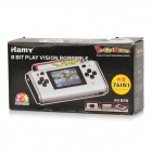 "HAMY HG-828 2.5"" FC Handheld Game Console w/ 76 Built-in Games - Grey"