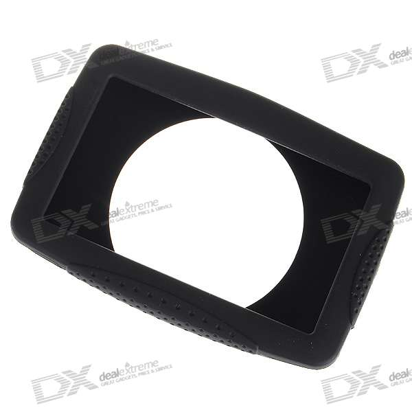 "Protective Silicone Case for 4.3"" GPS (Black)"