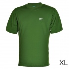 Naturehike-NH Quick Drying Round Collar Polyester T-shirt for Men - Army Green (Size XL)