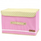Multifunction Folding Storage Box - Pink