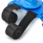 Aluminum Alloy + ABS Bicycle Holder + Tripod Mount Adapterfor Gopro 4/2 / 3 / 3+ - Black + BLue