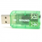 HY554 virtuellen 5.1-Surround USB 2.0 externe Soundkarte