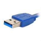USB3.0 A Male to Micro B Data Extension Cable - Blue (60 CM)