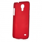 Protective Frosted Plastic Back Case for Samsung Galaxy S4 Mini i9190 - Dark Red