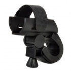 Bicycle Bike Mount Holder Clip Clamp for LED Light Lamp Flashlight - Black