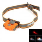 NEXTORCH ECO STAR 2-LED White + 1-LED White 30lm 4-Mode White Headlamp - Orange (2 x AAA)
