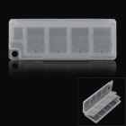 8-in-1 Memory Card Storage Case / Holder for PS Vita - Translucent White