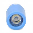 1W 78lm 7000K Cold White Light USB Powered Mini Light Emergency Lamp - Blue