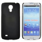 Protective Frosted Plastic Back Case for Samsung Galaxy S4 Mini i9190 - Black