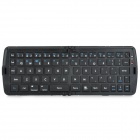 Fashion Portable Folding Bluetooth V3.0 66 Key Keyboard - Black