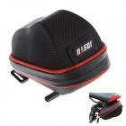 JOYTU 62202 Oxford Fiber Cycling Bicycle Saddle Seat Hard Tail Bag - Black + Red