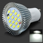 ZIYU ZY-656 GU10 7.5W 675lm 6500K 15-SMD 5730 LED White Light Bulb - Silver + White (110~240V)