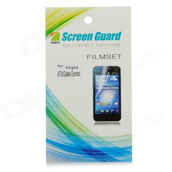 Matte Protective PE Screen Protector for Samsung i8730 - Transparent protective matte frosted screen protector film guard for nokia lumia 900 transparent