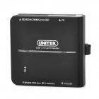 UNITEK Y-9309 USB 3.0 Multi-in-1 CF / TF / SD / SDHC / MMC / MINI SD / MS Card Reader - Black