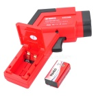 "JX-DT8550H Digital 1.4"" LCD High Accuracy Dual-Laser IR Temperature Tester - Red + Black (1 x 6F22)"