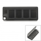 8-in-1 Memory Card Storage Case / Holder for PS Vita - Translucent Black