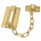 Safety Anti-Theft Door Window Clasp Chain - Golden
