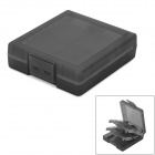 16-in-1 Memory Flash Cards Storage Case / Holder for NDSL / NDSI + More - Translucent Black