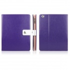 ENKAY ENK-3136 Crazy Horse Texture PU Leather Case Stand for Ipad 2 / 3 / 4 - Purple