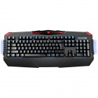 AULA KB863 Long Yuan light-Emitting Backlit Mechanical 110-Key USB Wired Game Keyboard - Black