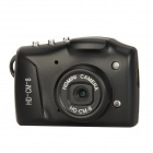 CM-8 CMOS 5.0MP High Definition IR Night Vision Aluminum Alloy Casing Mini Digital Camera - Black