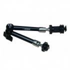 "Kamerar 11"" Magic Arm with Hot Shoe Mount & Camera Mount for DSLR Camera - Black"